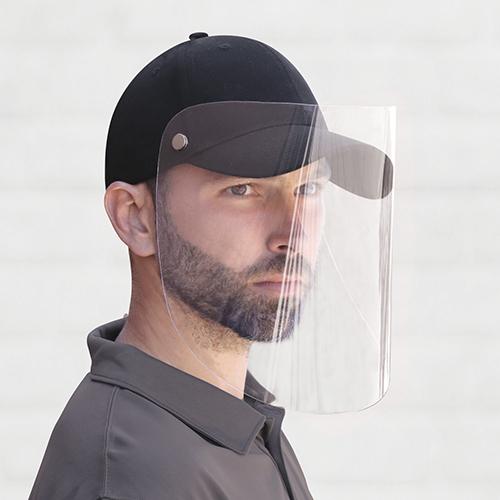 casquette, visière, bouton, masques, oreilles, soulage, uni