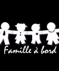 autocollant auto, famille à bord, famille à bord, bébé, chasseur, music, surf, garçon, fille, sticker