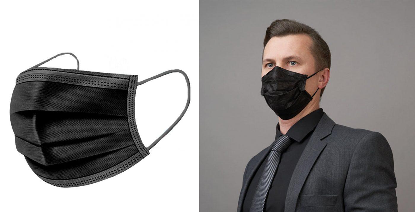 masque coton, logo, transfert, non-médical, spandex, virus, covid