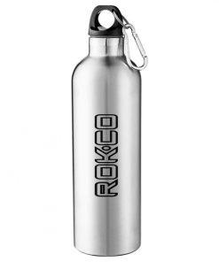 breuvage, isolée, mousqueton, bouteille, stainless, imprimable, logo, graphisme, couleur, 24oz, café