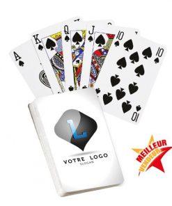 jeu de cartes, cartes, bridge, 52 cartes, logo, impression, personnalisé, promotionnel