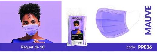 masque procédure, masque de base, couleur, 3 plis, non-médical, virus, covid