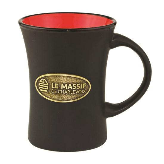 tasse, bistro, hour, 11oz, 2 couleurs,breuvage, café, boire, logo, graphisme
