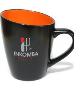 tasse, bistro, fiona, 12oz, 2 couleurs,breuvage, café, boire, logo, graphisme