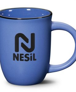 tasse, bistro, fiona, 14oz, 2 couleurs,breuvage, café, boire, logo, graphisme