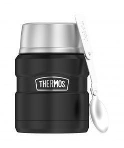 thermos, tasse, isolé, king, repas, soupe, café, liquide, chaud, froid, personnalisé, promotionnel