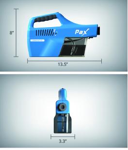 pulvérisateur, pax, pax100, bruine, brume, assainisseur, assainissement, désinfectant, covid, microbe, usb, charge, 30ml, portatif